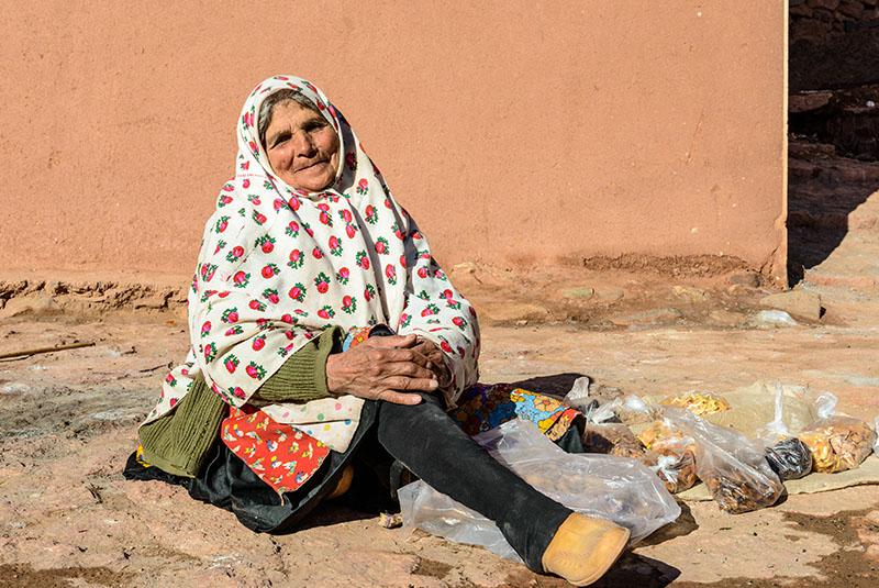 Abyaneh woman