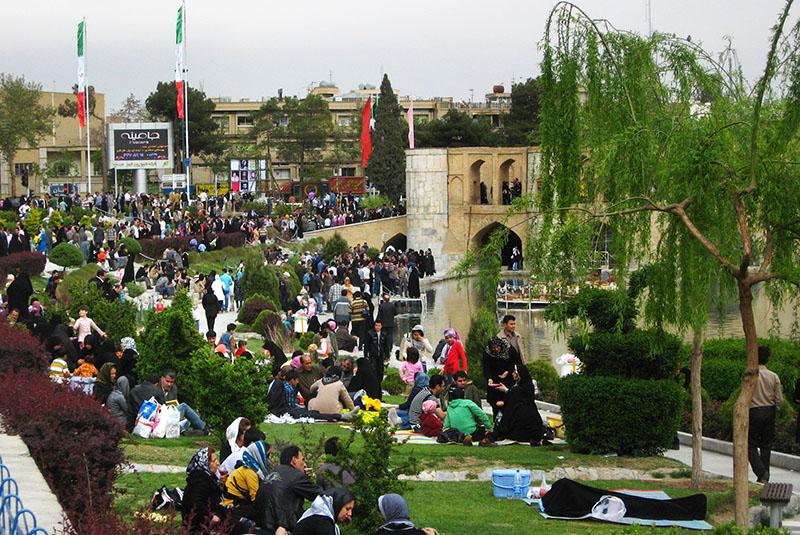 Sizdah be dar Isfahan