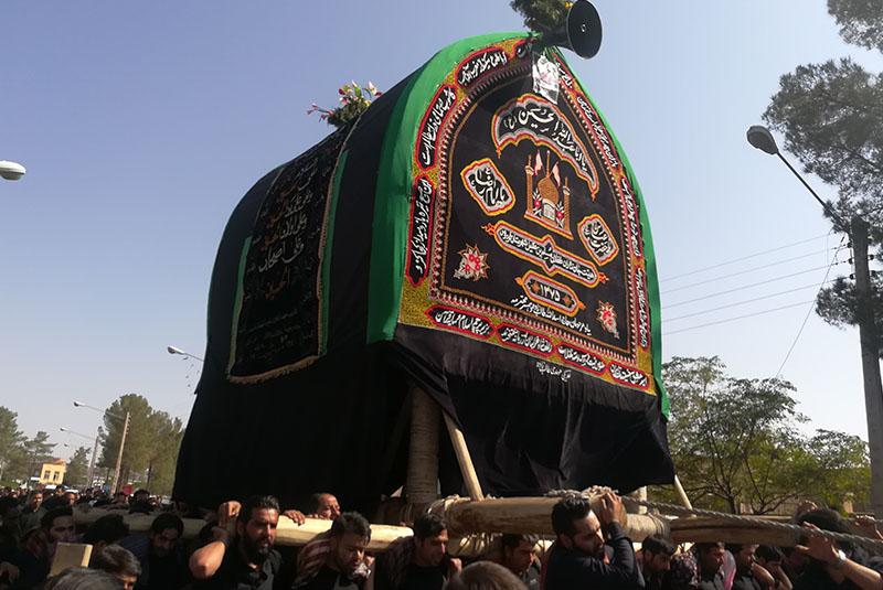 Carrying Nakhl Ashura Iran