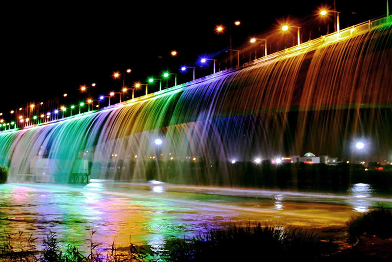 Ahvaz Waterfall