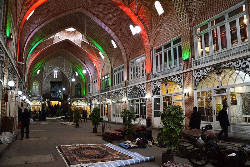Tabriz Covered Bazaar