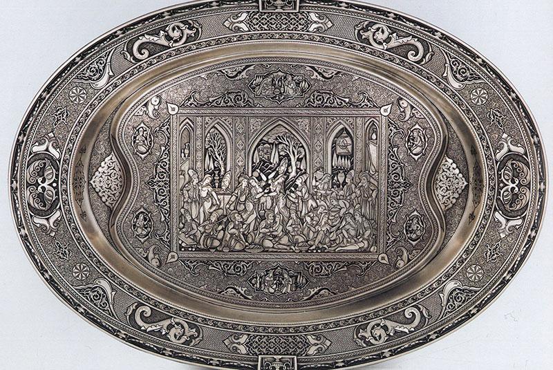 engraving Isfahan