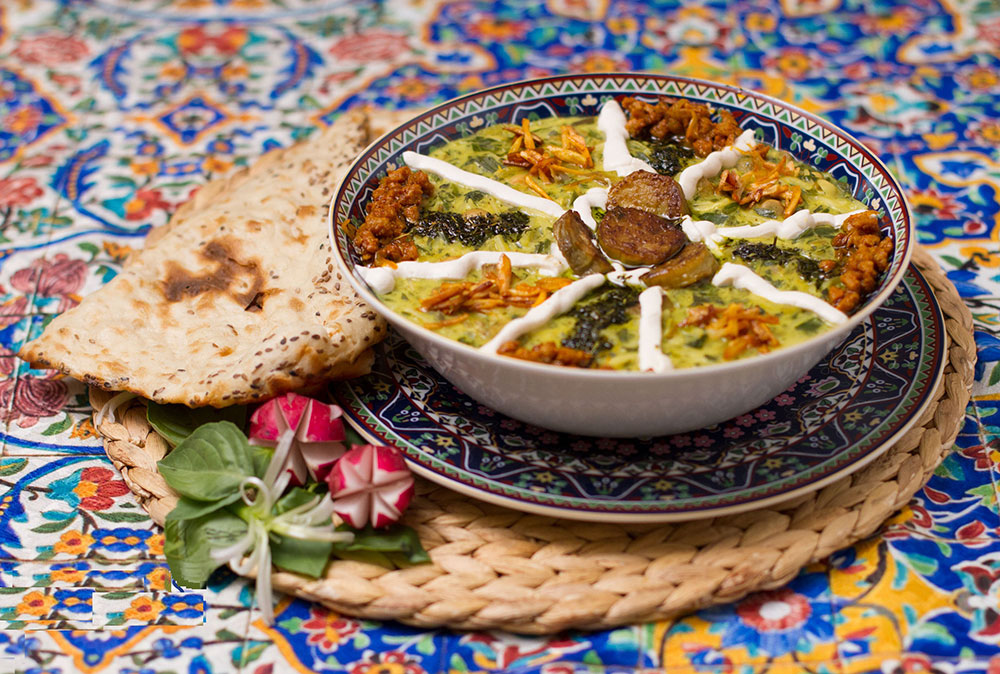 What are the most popular Soups and Ash in Iran?