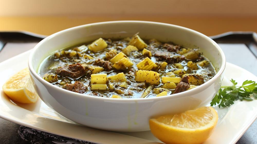 Khoresht-e Karafs (Celery Stew)