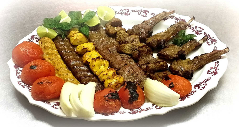 What are the different types of Iranian Kebab?