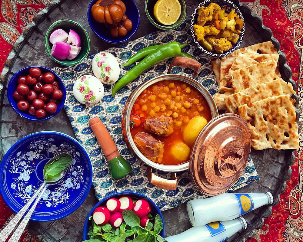 most traditional food in Iran