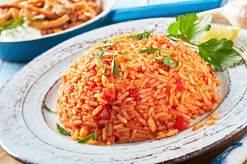 3.Dishes with rice as the main ingredient