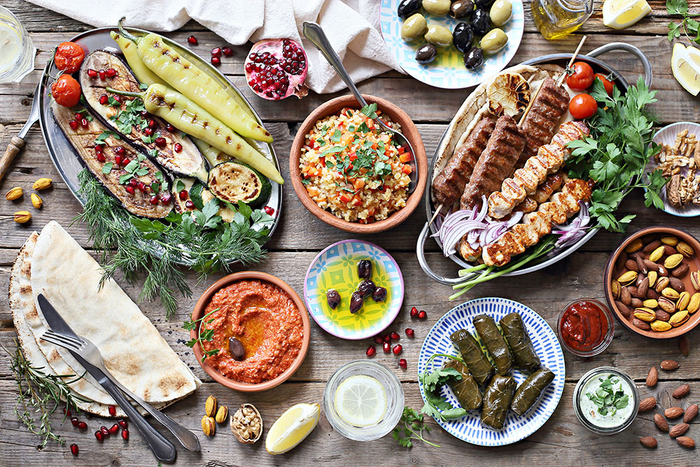 What is the national dish of Iran?