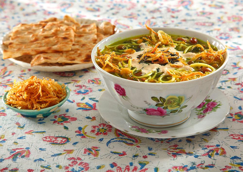 Ash-e Reshteh (Reshteh is similar to noodle)