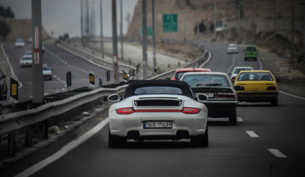 rent a car in Iran